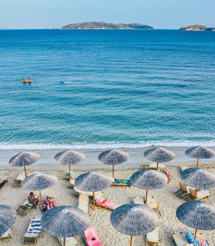 Relax on a beach with your unlimited holiday entitlement