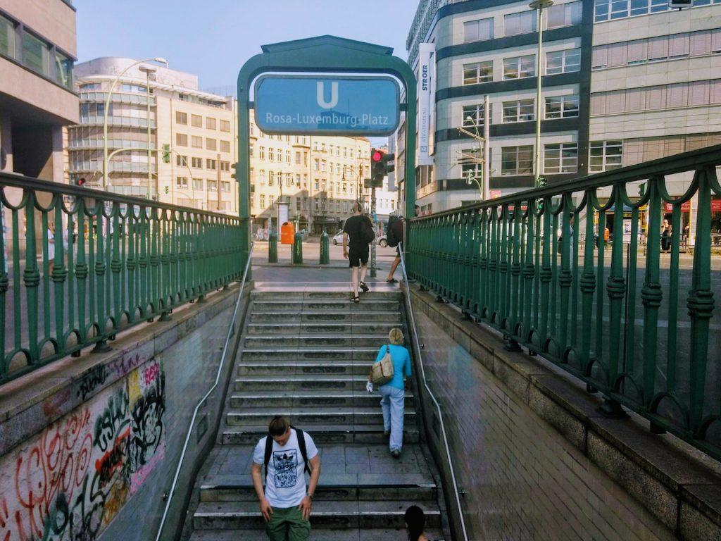 Rosa Luxemburg Platz Ubahn station